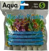 Aquarium plantjes set van 6st 10cm