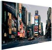 Reclameborden Times Square Glas 30x20 cm - Foto print op Glas (Plexiglas wanddecoratie)