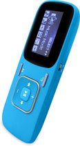Difrnce MP852 - MP3 speler - 4GB - Blauw
