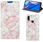 Huawei P Smart Z Smart Cover Lovely Flowers