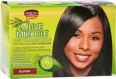 African Pride Olive Miracle Deep Conditioning Anti Breakage Relaxer Kit
