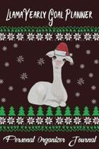 Llama Yearly Goal Planner