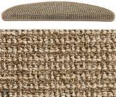 HAMAT Siena - Trapmat - 17x56 cm - 15 stuks - Beige