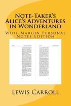 Note-Taker's Alice's Adventures in Wonderland