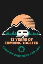 13th Anniversary Camping Journal
