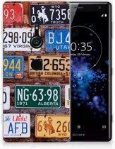 Sony Xperia XZ2 Uniek TPU Hoesje Kentekenplaten
