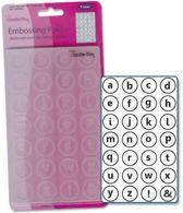 Crafts Too Embossingfolder letters kleine alfabet CTFD3012 Alphabet Lowercase