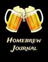 Homebrew Journal: Beer Brewer Log Notebook