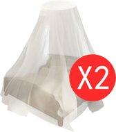 vidaXL Muggennetten 2 st rond 56x325x230 cm