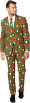 OppoSuits Treemendous - Mannen Kostuum - Gekleurd - Kerst - Maat 54