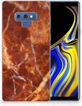 Samsung Galaxy Note 9 TPU Hoesje Design Marmer Bruin