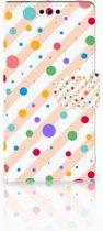 Sony Xperia M4 Aqua Boekhoesje Design Dots