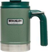 Stanley Vaccum Camp Mug Drinkfles - 473 ml - Hammertone Green