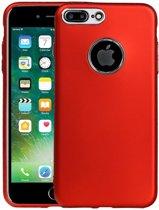 BestCases.nl Apple iPhone 7 Plus / 8 Plus Design TPU back case hoesje Rood