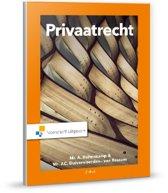 Boek cover Privaatrecht van J.C. Duivenvoorden- van Rossum (Onbekend)