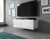 Meubella - TV-Meubel Calgary - Wit - 100 cm - Hangend