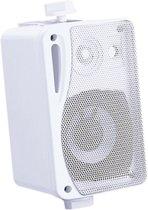 Achtergrond luidsprekers met ophangbeugel - 80 Watt - 4 Ohm