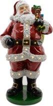 Verlichte grote kerstman 160 cm