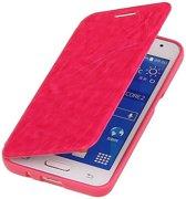 Samsung Galaxy Core Prime Hoesje Easy Booktype Roze