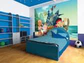 Fotobehang Disney | Groen, Blauw | 208x146cm