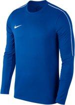 Nike Dry Park 18 Crew  Sporttrui performance - Maat S  - Mannen - blauw/wit