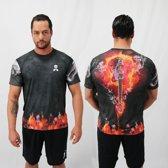 Bones Sportswear Heren T-shirt Guitar maat XL