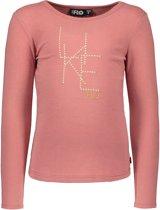 Like FLO Meisjes T-shirt - licht roze - Maat 116