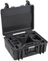 B&W Copter Case Type 6000/B zwart met DJI Phantom 4 inlay