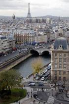 View of Paris France Journal