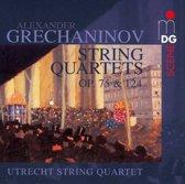 String Quartets Vol2: Op75 & Op124