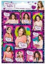 Violetta Silver Stickers