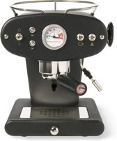 illy X1 Ground - Pistonmachine - Antraciet (voor gemalen koffie)
