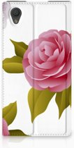 Sony Xperia L1 Uniek Standcase Hoesje Roses