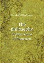 The Philosophy of John Norris of Bemerton