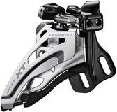 Shimano Deore XT FD-M8020 MTB voorderailleur zwart/zilver Uitvoering Schelle hoch