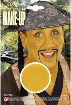 Gele schmink make-up