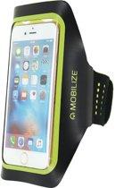 Mobilize MOB-22103 mobiele telefoon behuizingen Armband doos Zwart, Groen, Geel