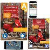 Scooter Theorieboek - Theorie leren Bromfiets Rijbewijs AM + CD ROM incl. Smartphone Examens 2018