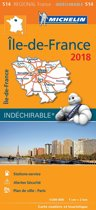 Ile de France 17514 carte michelin kaart 2018