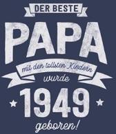 Der Beste Papa wurde 1949 geboren: Wochenkalender 2020 mit Jahres- und Monats�bersicht und Tracking von Gewohnheiten - Terminplaner - ca. Din A5