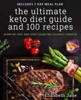 Omslag van 'The Ultimate Keto Diet Guide & 100 Recipes'