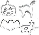Set van 4 Halloween uitstekers - Städter