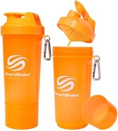 SmartShake Slim 500ml - 1 stuk - Neon White