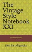 The Vintage Style Notebook XXI