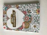 volwassen kleurboek - kleurboek volwassenen - kleuren - volwassennen -  volwassen