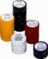 CELP zelfkl tape 128, PVC, zw, (lxb) 25mx19mm, UV-bestendig, isol