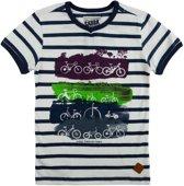 SKURK T-shirt Tike - Wit - Maat 128 - 128