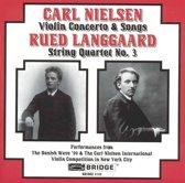 Violin Concerto & Songs / String Qu