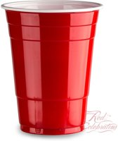 50 Red Cups original - American Party Cups | Red Celebration