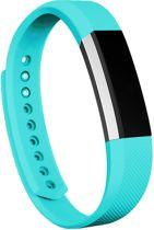 KELERINO. Siliconen bandje voor Fitbit Alta - Teal - Large